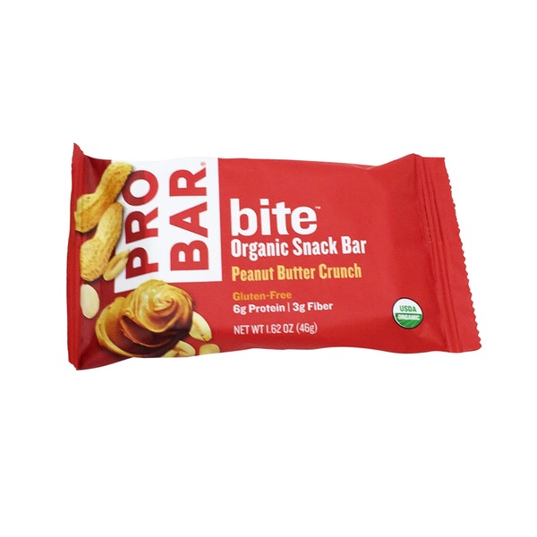 Probar Bite Organic Peanut Butter Crunch Snack Bar