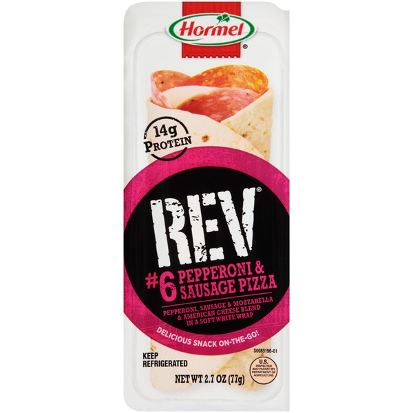 Hormel On-The-Go Pepperoni & Sausage Pizza