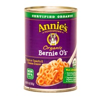 Annie's Homegrown Bernie O's Pasta In Tomato & Cheese Sauce Organic Canned Meals