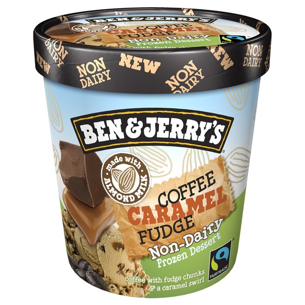 Ben & Jerry's Non Dairy Coffee Caramel Fudge