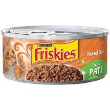 Purina Friskies Classic Pate Mixed Grill Cat Food 5.5 oz. Can