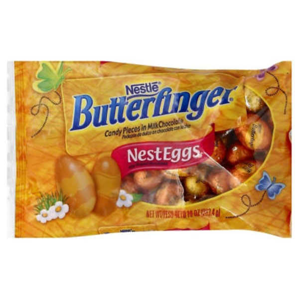 Nestle Butterfinger Crispety, crunchety, peanut-buttery pieces in solid NESTLE milk chocolate Chocolate Candy