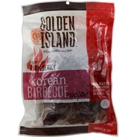 Golden Island All Natural Korean Barbecue Recipe Pork Jerky