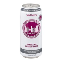 Hi-Ball Sparkling Energy Water Wild Berry