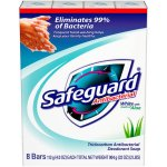 Safeguard White with Aloe Bar Soap 8-4 oz. Bars