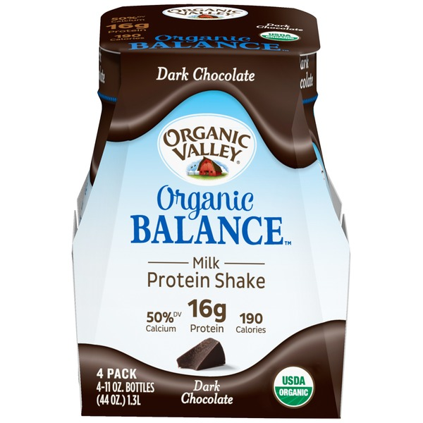 Organic Valley Organic Balance Dark Chocolate Protein Shake