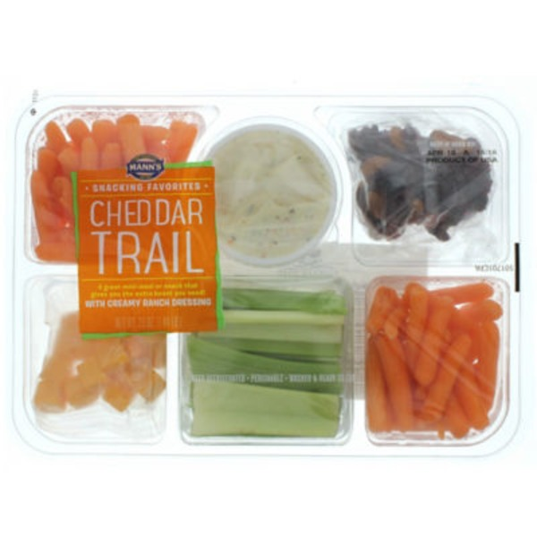 Mann's Snacking Favorites Cheddar Trail Tray