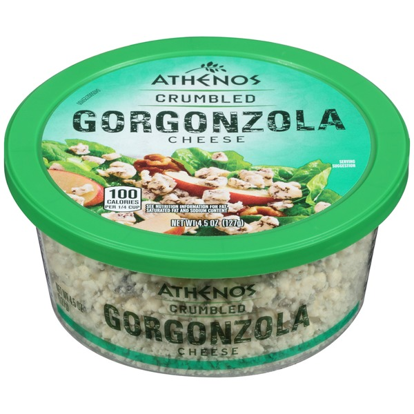 Athenos Crumbled Gorgonzola Cheese
