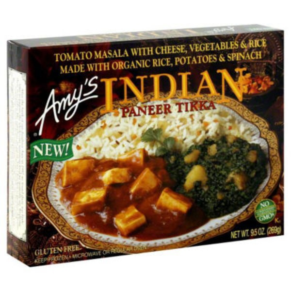 Amy's Indian Paneer Tikka