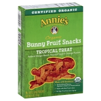 Annies Fruit Snacks Bunny Organic Tropical Treat 5 Count