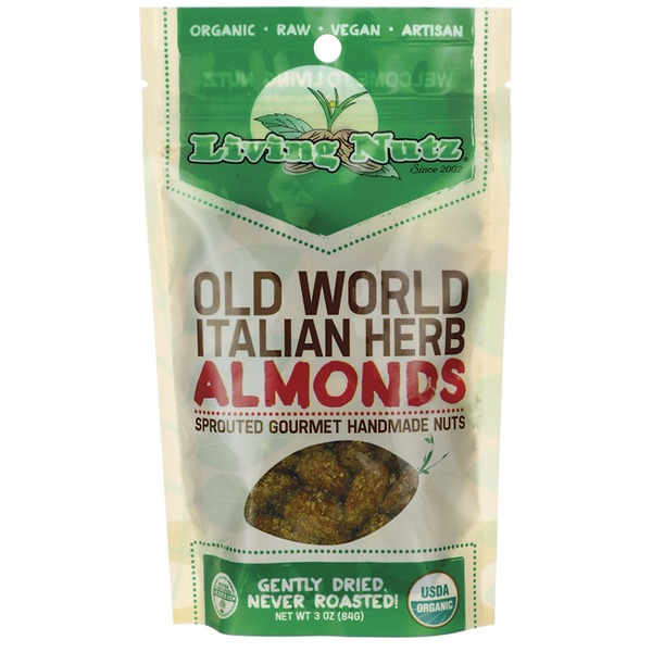 Living Nutz Organic Old World Italian Herb Almonds