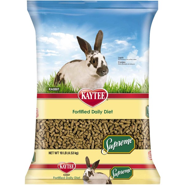 Kaytee Supreme Fortified Daily Diet Pellets for Rabbits