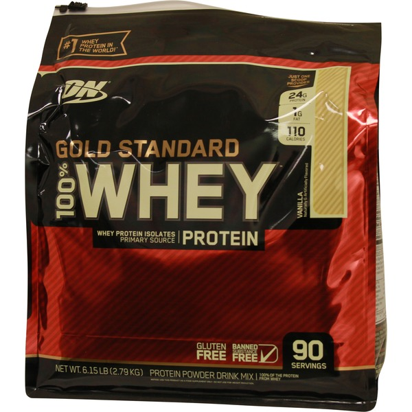 Costco Optimum Nutrition Gold Standard Vanilla 100 Whey Protein
