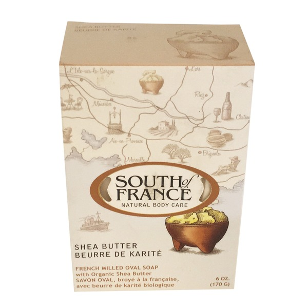 South of France French Milled Shea Butter Oval Soap