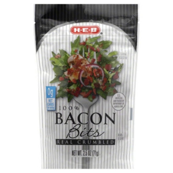 H-E-B 100% Real Crumbled Bacon Bits