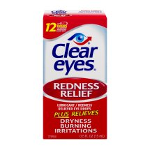 Clear Eyes? Redness Relief Eye Drops
