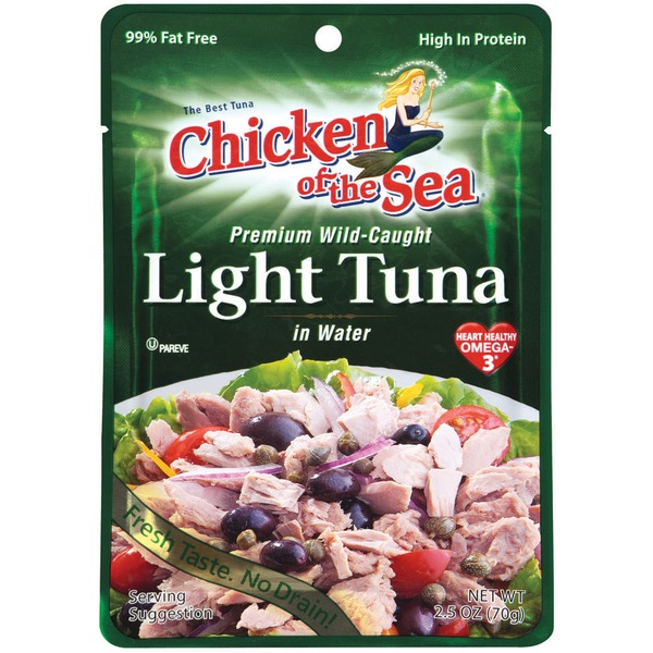 Chicken of the Sea Premium Light In Water Tuna