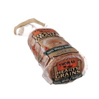 Thomas Hearty Grains 100% Whole Wheat Bagels - 6 CT