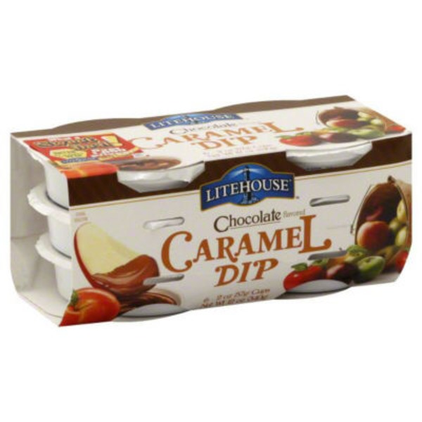 Litehouse Caramel Chocolate Flavored Dip