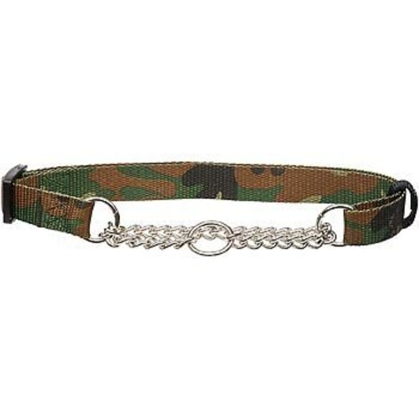 Hamilton Camo Pattern Martingale Dog Collar For Necks 20