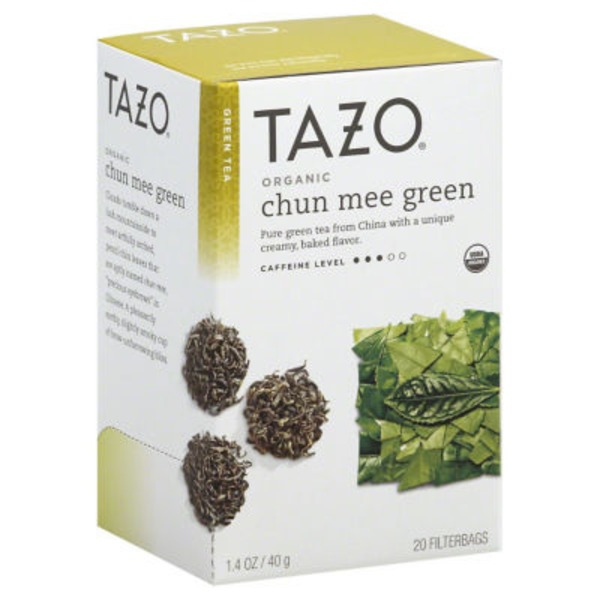 Tazo Tea Organic Pan-Fired Green Tea Bags