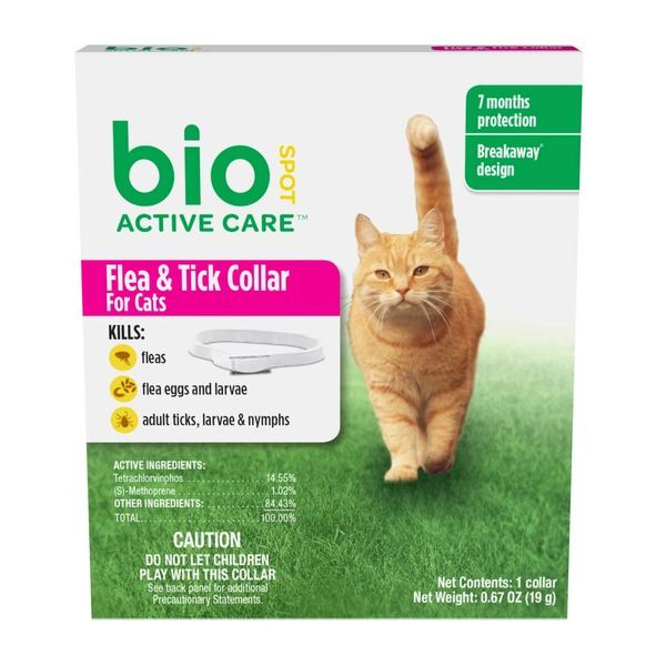 Bio Active Care Cat Flea & Tick Collar