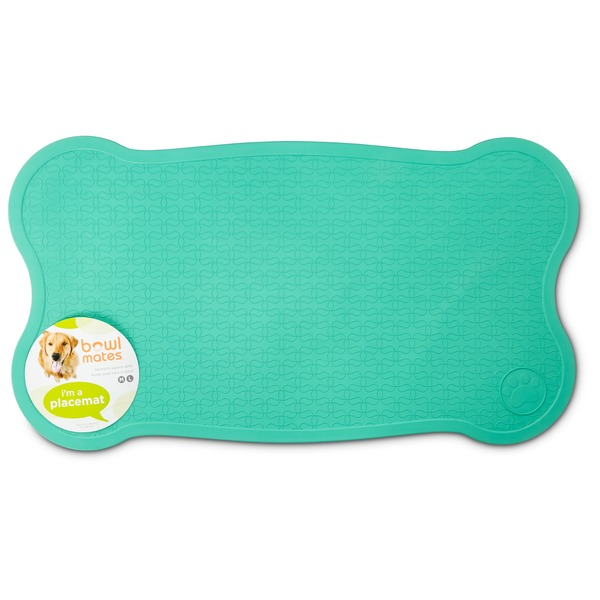 Petco Bowlmates By Petco Medium / Large Teal Placemat