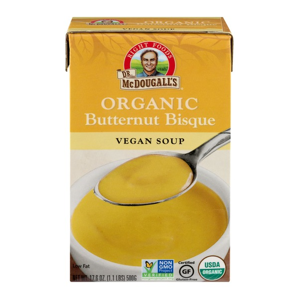 Dr. McDougall's Right Foods Organic Butternut Bisque Vegan Soup