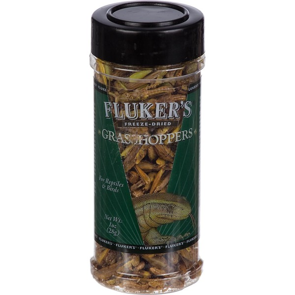 Fluker's Freeze Dried Grasshoppers for Reptiles & Birds