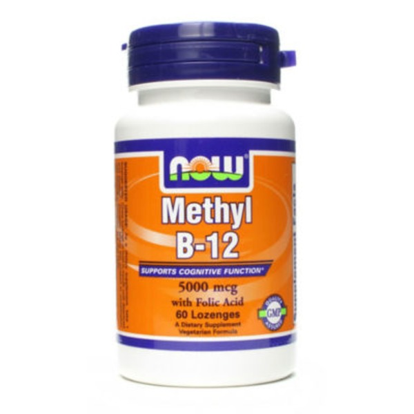 Now Methyl B12 5000 Mcg