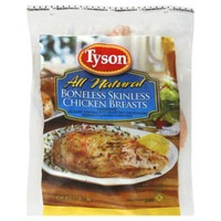 Tyson All Natural Boneless Skinless Chicken Breasts