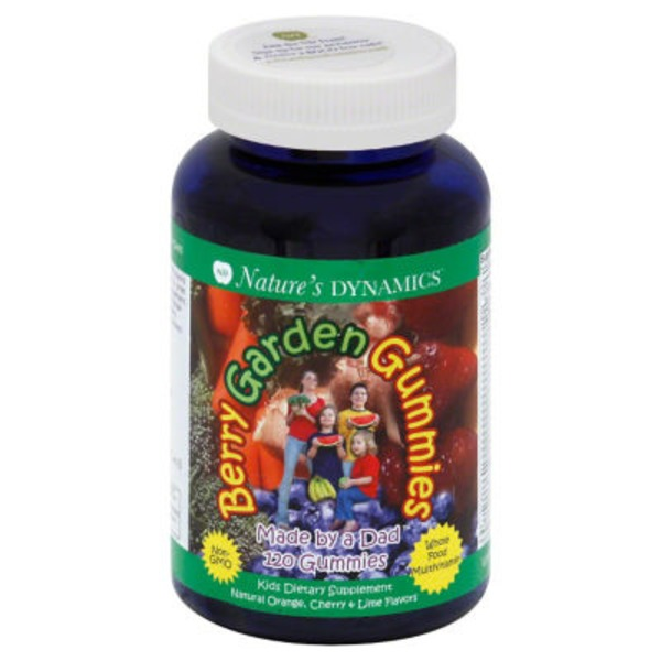 Nature's Dynamics Berry Garden Gummies Whole Food Multivitamin