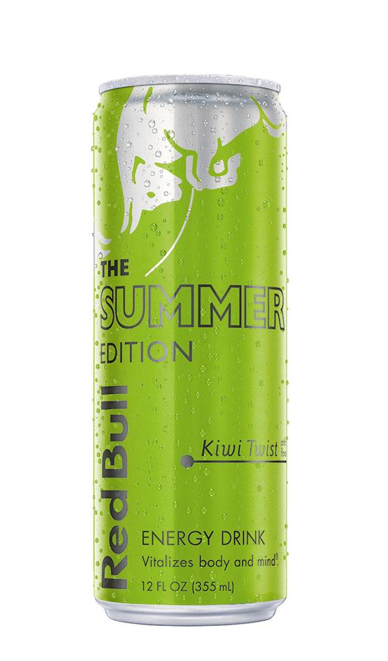 Red Bull Summer Edition Kiwi Twist Energy Drink