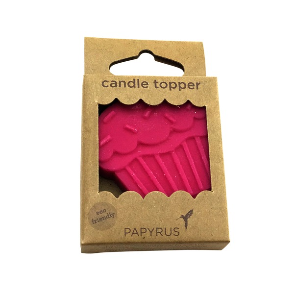 Papyrus Eco Topper Cupcake Candle