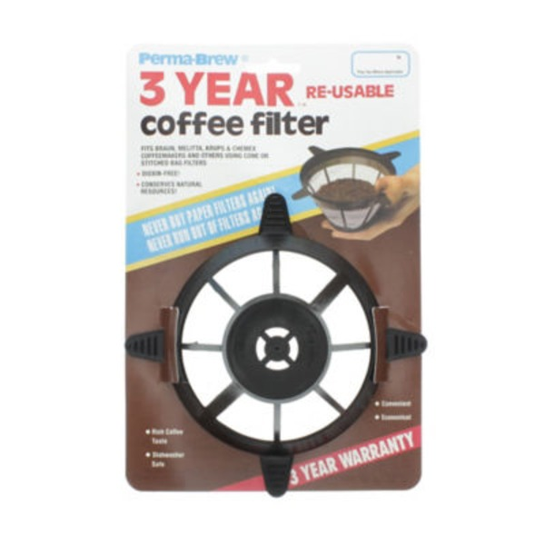 PermaBrew Cone Style Reuseable Coffee Filter