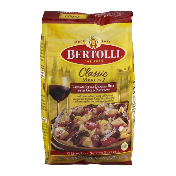 Bertolli Meal For Two Tuscan-Style Braised Beef With Gold Potatoes