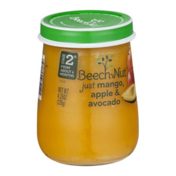 Beech-Nut Naturals Just Mango, Apple & Avocado Stage 2