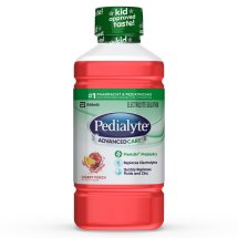 Pedialyte AdvancedCare Electrolyte Solution with PreActiv Prebiotics, Electrolyte Drink, Cherry Punch, 35 fl oz