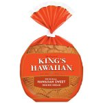 King's Hawaiian Original Hawaiian Sweet Round Bread, 16 oz