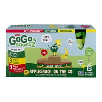 GoGo squeeZ Applesauce On The Go Pouches, Variety