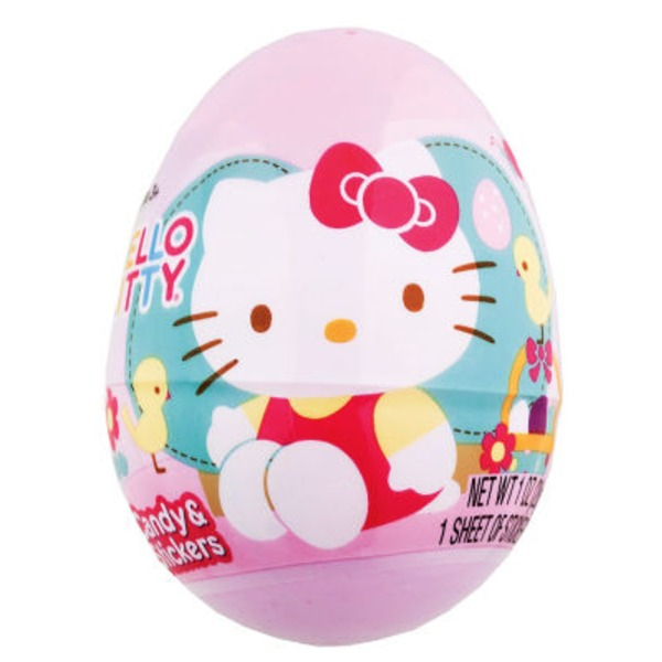 Frankford Hello Kitty Plastic Egg With Candy
