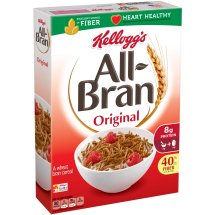 Kellogg's All-Bran Original Value Size Cereal 18.3 Oz Box