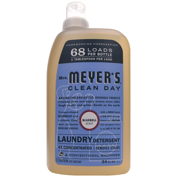 Mrs. Meyer's Bluebell Scent Laundry Detergent