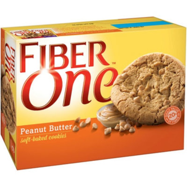 Fiber One Peanut Butter Soft-Baked Cookies