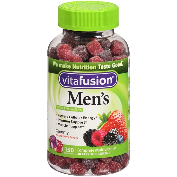 VitaFusion Men's Complete Multivitamin Gummy Dietary Supplement