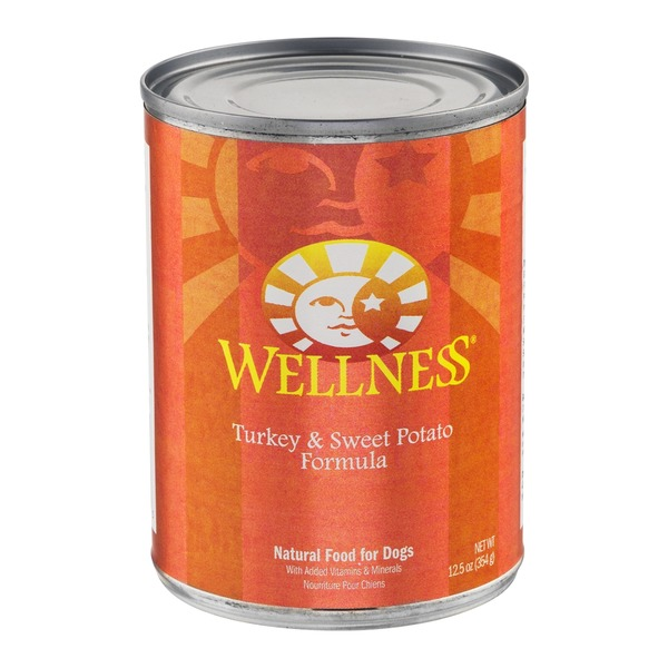 Wellness Natural Dog Food Turkey & Sweet Potato Formula