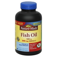 Nature Made 1200 Mg Omega-3 Fish Oil Dietary Supplement Softgels
