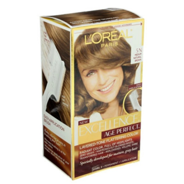Excellence Age Perfect 5N Medium Natural Brown Hair Color