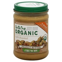 Santa Cruz Organics Lightly Roasted Crunchy Peanut Butter