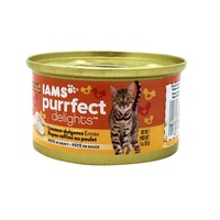 Iams Purrfect Delights Chicken-Dulgence Entrée Pâté in Gravy Cat Food